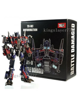 Wei Jiang Weijiang Deformation M01 D Battle Damage Aoe Evasion Optimus Prime by Weijiang