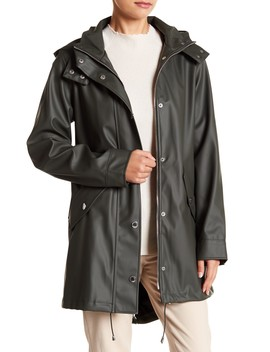 Solid Slicker Rain Jacket by London Fog