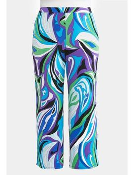 Plus Size Woodstock Palazzo Pants by Cato