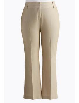 Plus Size Curvy Fit Trouser Pants by Cato