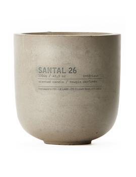 Santal 26 Concrete Candle by Le Labo