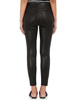 Adelaide Leather Skinny Pants by L'agence