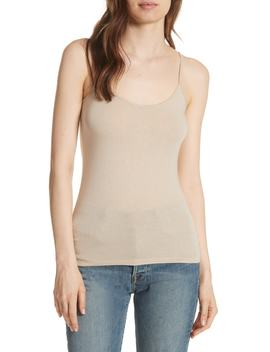 Extra Fine Metallic Camisole by Majestic Filatures