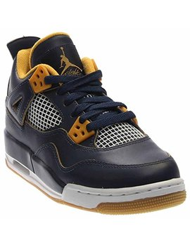 Jordan Nike Kids Air 4 Retro Bg Basketball Shoe by Jordan