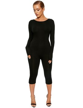 The Nw Back On The Low Jumpsuit by Naked Wardrobe