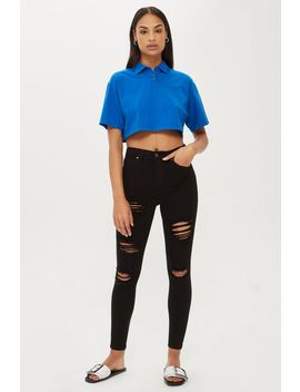 Moto Super Rip Jamie Jeans by Topshop