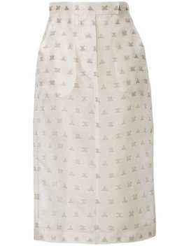 Branded Pencil Skirt by Max Mara