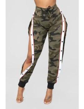 Anais Cargo Jogger   Olive by Fashion Nova