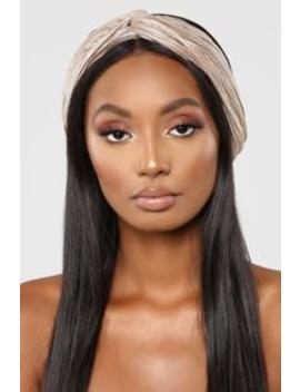 Something On My Head Wrap   Grey by Fashion Nova