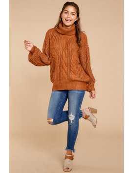 Make Things Comfortable Desert Sand Sweater by Entro