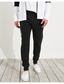 Logo Skinny Fleece Jogger Pants by Hollister