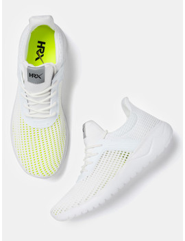 Hrx By Hrithik Roshan Men White Training Shoes by Hrx By Hrithik Roshan