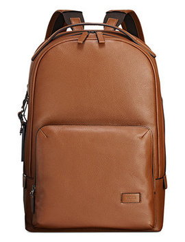 Men's Harrison Webster Leather Backpack by Tumi