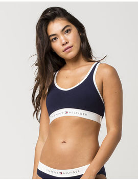 Tommy Hilfiger Cotton Lounge Navy Bra by Tommy Hilfiger