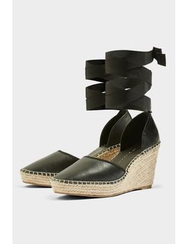 ** Wide Fit Williams Espadrille Wedges by Topshop