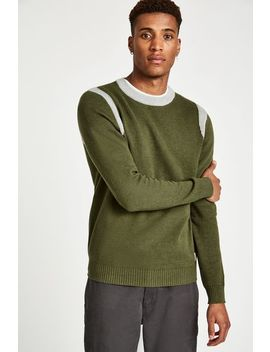 Wellsbourne Contrast Crew Neck Jumper by Jack Wills