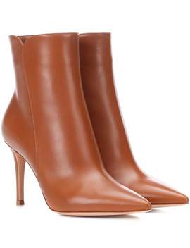 Ankle Boots Levy 85 Aus Leder by Gianvito Rossi