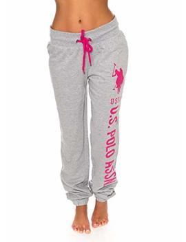 U.S. Polo Assn. Womens French Terry Jogger Lounge Sleep Sweatpants Pajamas by U.S. Polo Assn.