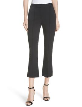 Midrise Crop Bootcut Pants by Dvf