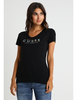 Gipsy Tee   T Shirt Imprimé by Guess