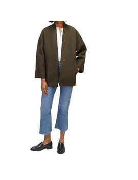 Warehouse   Short Bonded Coat by Warehouse