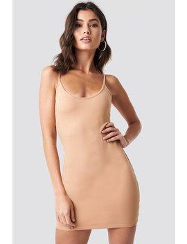 Thin Strap Bodycon Dress  by Na Kd