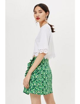 Petite Meadow Ruffle Mini Skirt by Topshop