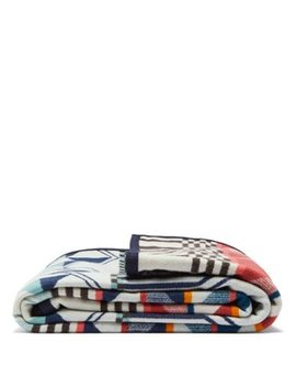 Southern Highlands Wool And Cotton Blend Blanket by Pendleton