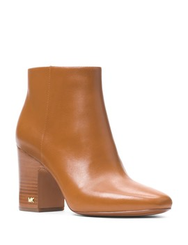 Women's Elaine Leather Booties  by Michael Michael Kors