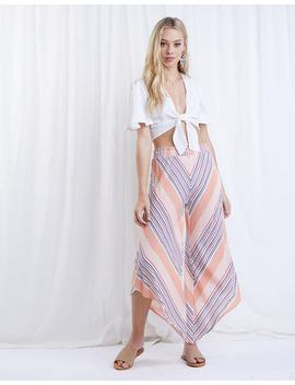 Just Peachy Striped Pants by 2020 Ave