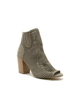 Clyde Bootie (Khaki) by Laura's Boutique