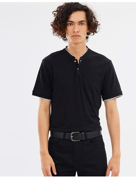 Skull Button Polo Shirt by The Kooples