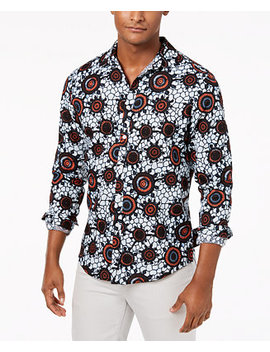 I.N.C. Men's Zazu Print Shirt, Created For Macy's by Inc International Concepts