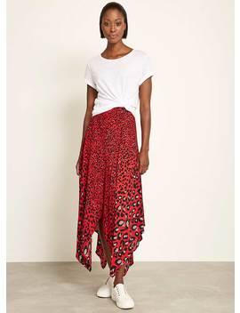 Salma Print Handkerchief Skirt by Mint Velvet