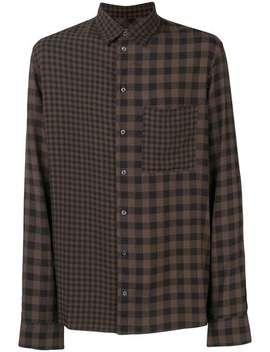 Qasimicontrast Check Shirthome Men Qasimi Clothing Shirts by Qasimi