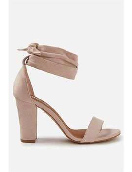 San Monroe Tie Up Heel by Cotton On