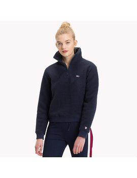 Fleece Regular Fit Sweatshirt by Tommy Hilfiger