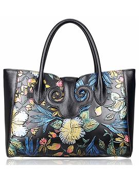 Pijushi Floral Handbag Womens Designer Bag Ladies Shoudler Handbags Top Handle 91776 by Pijushi