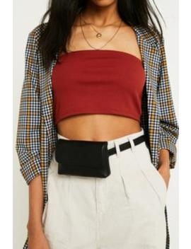 Uo Faux Leather Belt Bag by Urban Outfitters