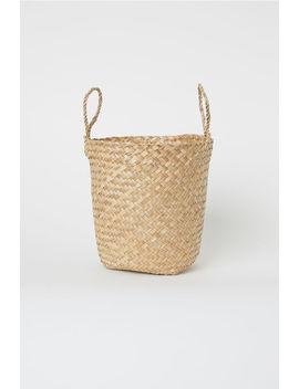 Small Braided Storage Basket by H&M