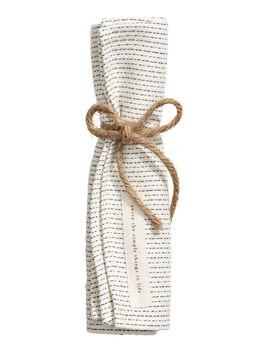 Jacquard Weave Cotton Napkin by H&M