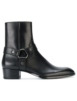 Saint Laurent'wyatt 40' Harness Stiefel Home Herren Saint Laurent Schuhe Stiefel by Saint Laurent