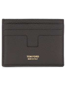 Logo Cardholder Wallet by Tom Ford