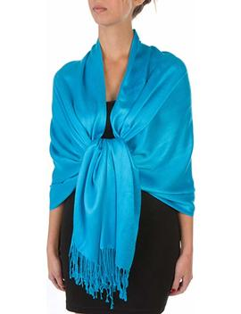 "Sakkas 78"" X 28"" Rayon From Bamboo Soft Solid Pashmina Shawl/Wrap/Stole by Sakkas"