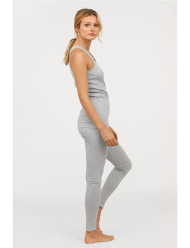 Ribbed Lounge Leggings by H&M