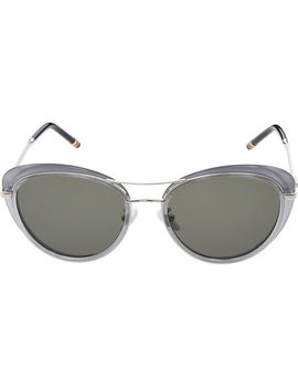 Grey Cat Eye Sunglasses by Boucheron