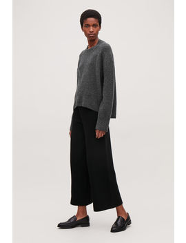 Oversized Wool Boucle Jumper by Cos