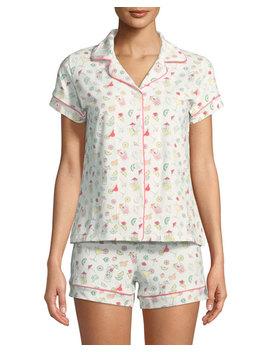 Margaritas Shortie Pajama Set by Bedhead