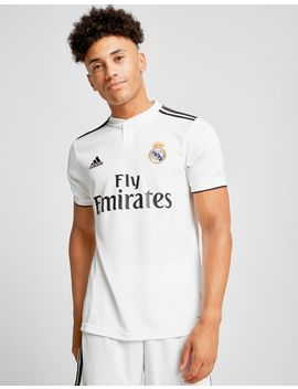 Adidas Real Madrid 2018/19 Home Shirt by Adidas