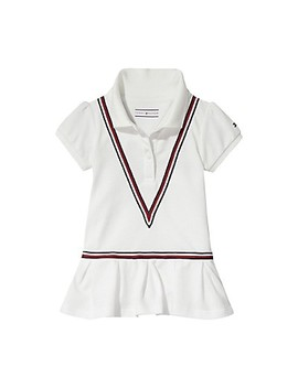 Th Baby Stripe Polo Dress by Tommy Hilfiger